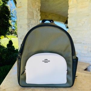 NWT Coach Colorblock leather backpack